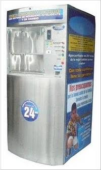 Máquina purificadora y expendedora de agua