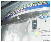 Máquina Vending a Detalle