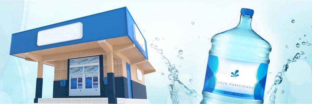 Franquicia de agua purificada purificadora