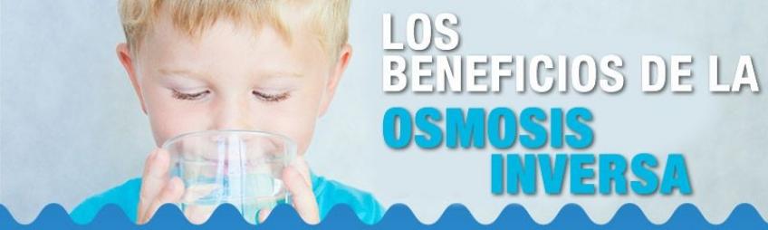 beneficios de beber agua de osmosis inversa