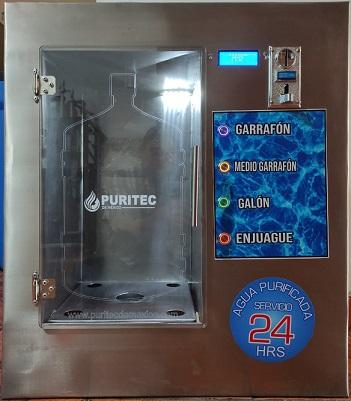 ventana vending de agua purificada