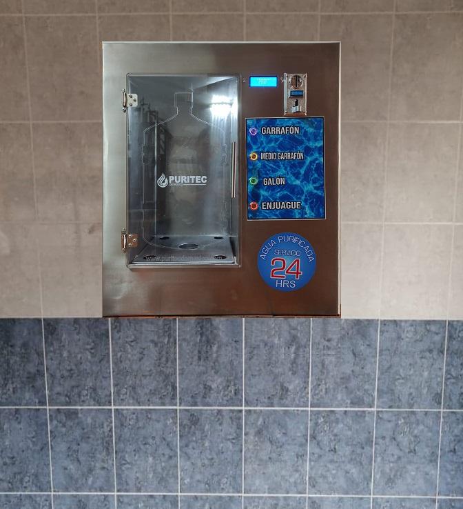 maquinas vending de agua purificada