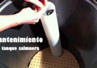 mantenimiento del suavizador de agua
