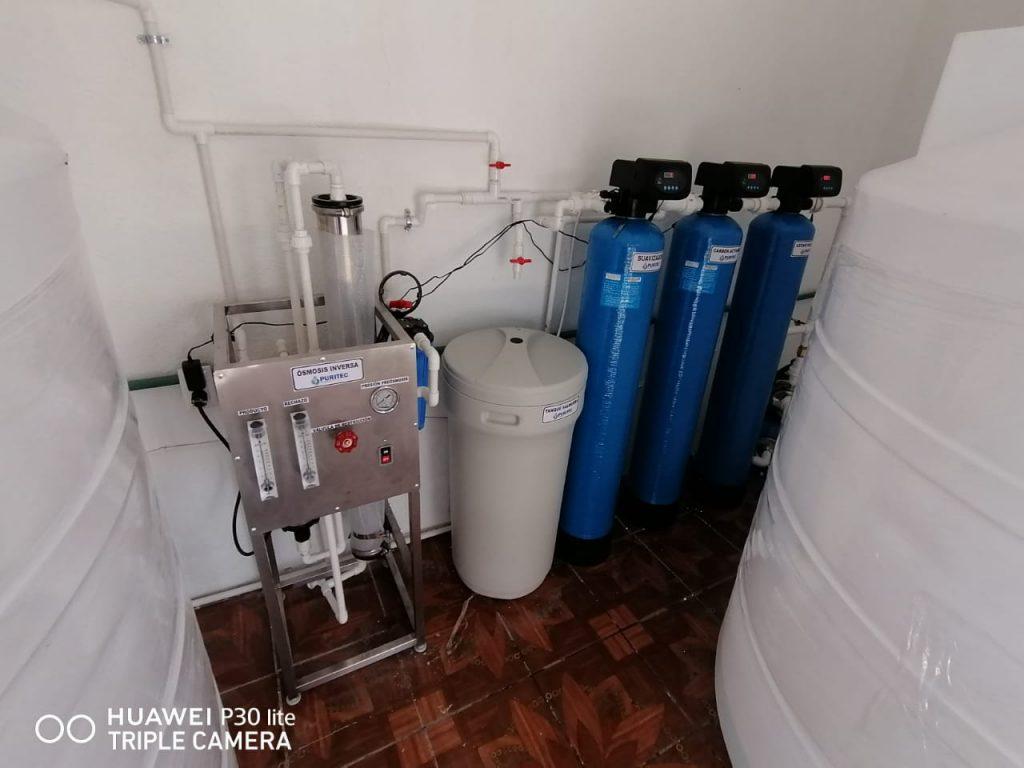 purificadora de agua negocio
