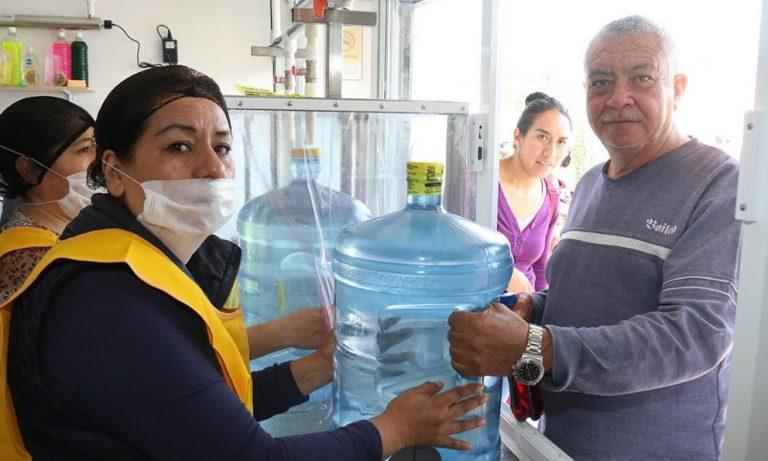 purificadora de agua venta a mostrador
