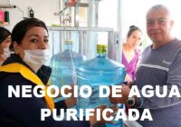 negocio de agua purificada